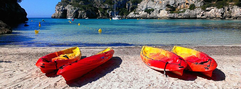 kayacmenorca - Pon un kayac en tu vida y disfruta