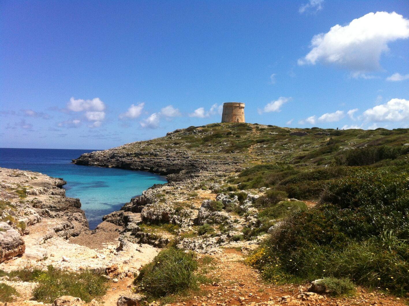 Cala Roja - The most romantic beaches of Menorca